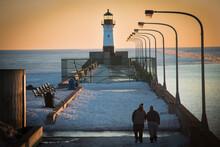 Lighthouse During Sunrise