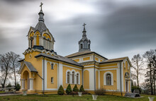 Roman Catholic Church In Czerniczyn Lublin Voivodeship. Poland