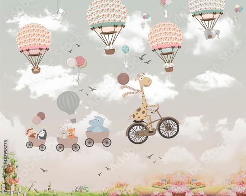 dla-dzieci-zwierzeta-na-balonach