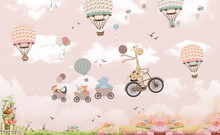 Children's Photo Wallpaper, An...