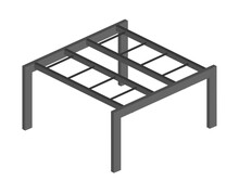Outdoor Gym Monkey Bar. Sports Crossbar Icon With Horizontal Ladder. Equipment Design Element For Sport Maps, Web Design, Etc.