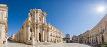 Panorama Of An Empty Piazza Du...