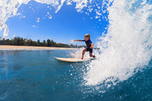 Happy Surf Boy - Young Surfer ...