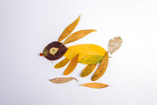 Autumn Leaves Applique, Abstra...