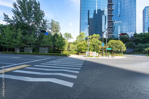 Fototapeta road in city obraz