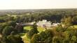 Soestdijk, Utrecht / The Netherlands - October 10th 2020: Royal Palace Soestdijk The Netherlands from the air