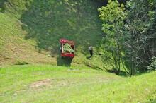 La Raccolta Del Fieno Nelle Montagne Di Biella