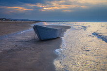 Fishing Boat On The Coast Of T...