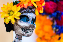 Day Of The Dead (Día De Muertos) Celebrations In Oaxaca, Mexico.