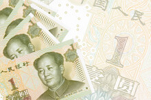 1 Chinese Yuan Bills Lies In S...