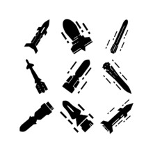 Rocket Icon Or Logo Isolated S...