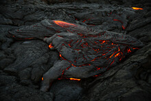 Volcanic Lava Flow, Hawaii