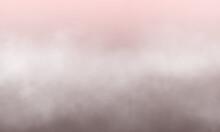 Abstract White Smoke On Blush ...