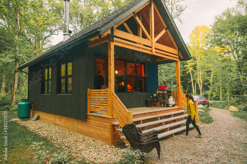 Tela Vacation rental forest lodge countryside cabin by the lake for holidays in the wilderness