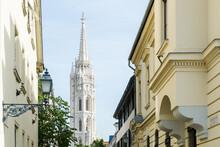 View Of Matthias Church Tower ...