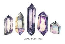 Quartz Crystal Watercolor Set....