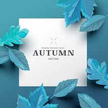 Autumn Background Layout Compo...