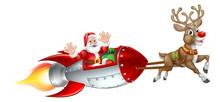 Santa Claus In A Christmas Spa...