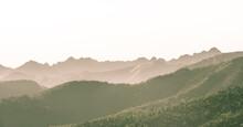 Morning Mist - Rocky Mountains...