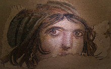 The Gypsy Girl Mosaic Of Zeugm...