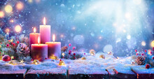 Advent - Four Purple Candles W...