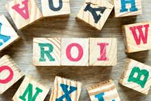 Alphabet Letter Block In Word ...