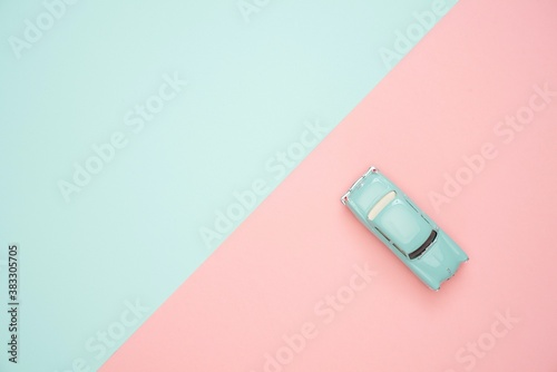 Fototapeta white, isolated, object, paper, business, green, blank, usb, color, blue, card,