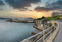 Plymouth Hoe In The Devon City Of Plymouth In The UK