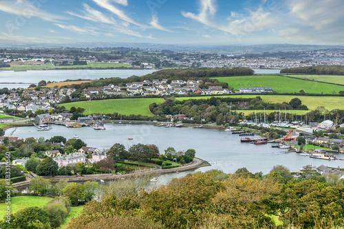 Obraz na plátně Millbrook on the Rame Peninsula in Cornwall  Uk