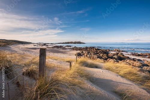 Canvas-taulu Summer Beach Seascape on the Isle of Iona