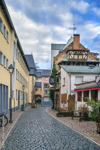 Fototapety, obrazy: Street in Frankfurt, Germany