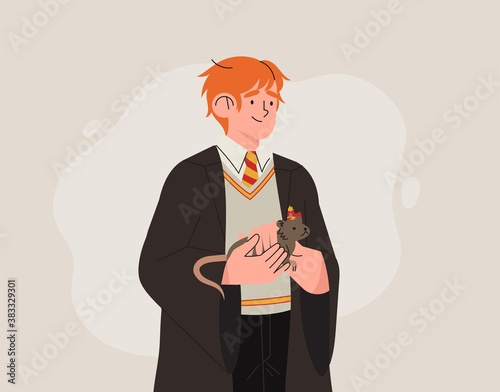 Fotomural Character from Harry Potter books Ron Weasley
