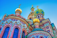 The Colorful Domes Of Church O...