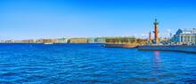 Panorama Of Neva River's Landm...