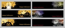 Halloween Banners Collection O...