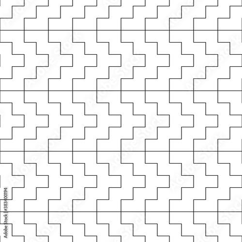 Cuadros en Lienzo Seamless manji pattern