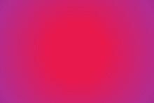 Abstract Purple And Orange Blu...
