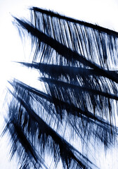 Harmony of high grass vibrations in the wind Abstract graphics for decoration for wallpapers, relax energy profit meditation