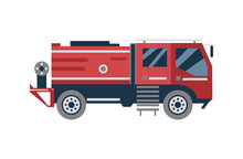 Cartoon Fire Engine Truck From...