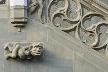 Sculptures On The Facade Of Th...