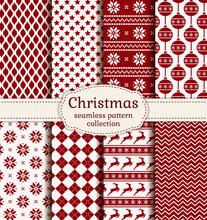 Christmas And Winter Seamless ...