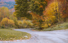 Autumn Country Road, Vermont