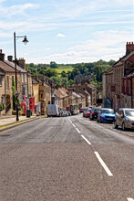Barnard Castle Town - County Durham - England