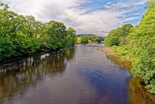 The River Tees Near Barnard Castle, Teesdale - England