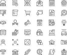 Business Vector Icon Set Such As: Stopwatch, Opportunity, Mentor, Idea, Leadership, Camera, Bright, Problem, Paid, Return, Disease, Shine, Deposit, Single, Code, Broker, Boutique, Transport, Depot