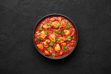 Chicken Madras Curry In Black ...
