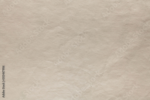 A sheet of craft paper. Background. Vintage page Canvas Print