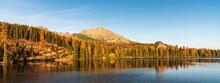Strbske Pleso Lake With Peaks ...