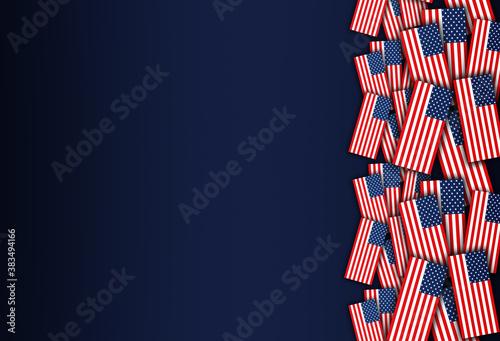USA today, tomorrow, and into the future Fototapete
