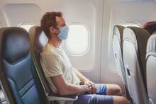 Passenger Wearing Face Mask In...